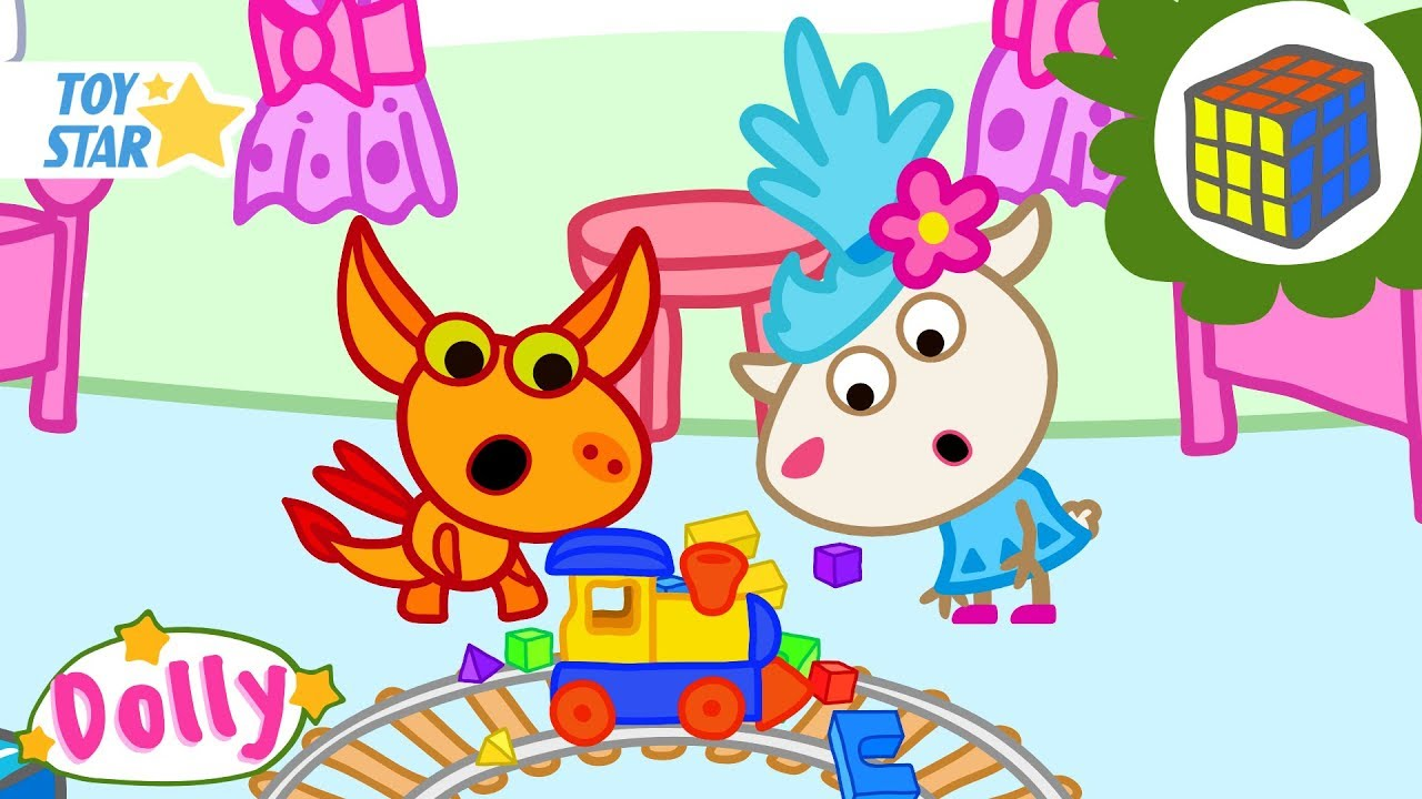 Dolly And Friends | Toy Train | Season 3 | 5 New Episodes | Funny Cartoon For Kids #266 Full HD