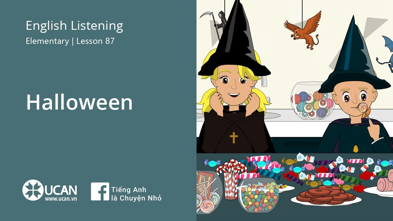 Halloween Listening 1 (Learning English Online Ucan Vn) –[Multimedia
