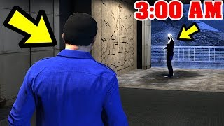 GTA 5 - The MOUNT CHILIAD Creature FOUND!! (3:00 AM)