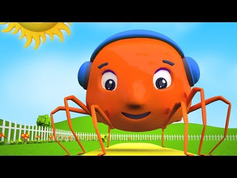 Incy Wincy Spider | Spider Song | Nursery Rhymes For Children | Baby Rhyme