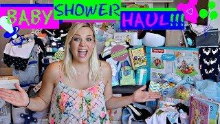 My Amazing Baby Shower Haul 2018!!! - Krysta Phalen