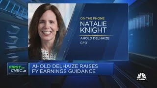 Online sales growing faster in the U.S. than in Europe, Ahold Delhaize CFO says