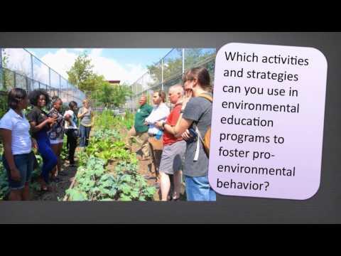 EEResearch: What influences pro-environmental behavior?