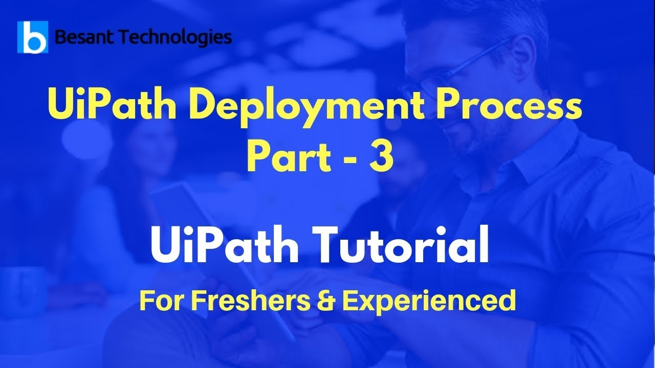 Deploy the Robot to Orchestrator|UiPath Deployment Process Part - 3 |  UiPath Tutorial For Beginners