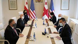 Госсекретарь США провел переговоры в Тбилиси