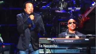 Tracks of my tears Smokey Robinson ft Stevie Wonder Subtitulada al español.