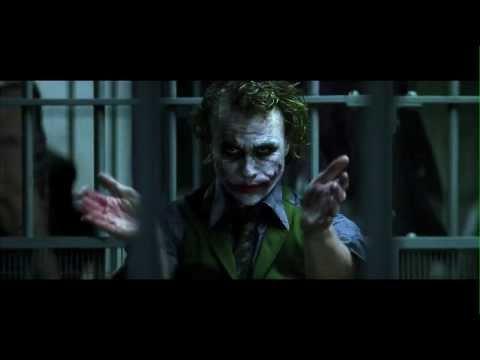 The Joker applauds - clapping Joker