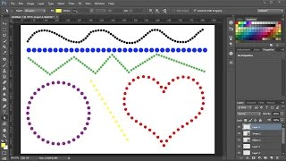 How to Make Dotted Lines in Adobe Photoshop
