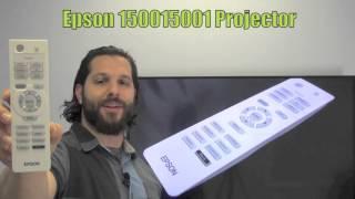 Epson 150015001 Projector Remote Control - www.ReplacementRemotes.com