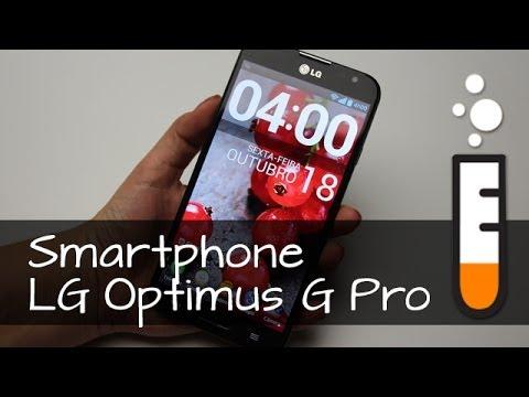 Optimus G Pro LG E989 Phablet Smartphone - Resenha Brasil