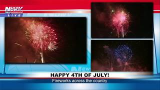 HAPPY 4TH OF JULY: Early firework celebrations across the country