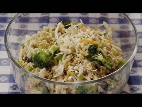 Salad Recipe - How to Make Ramen Salad