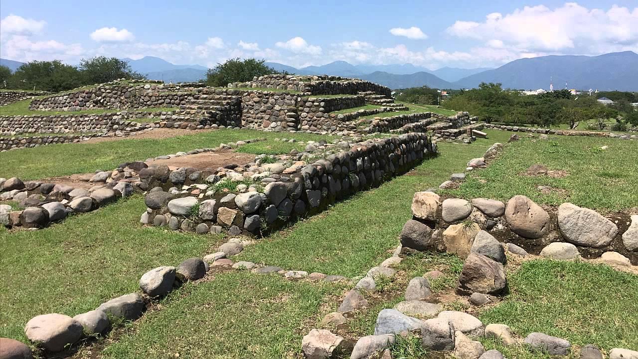 Vista panorámica de la zona arqueológica de La Campana