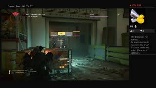 Division 2-lonely night Dark Zone farm attemp