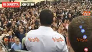 """Salvini: """"Con noi cambia musica, subito la legge sulla legittima difesa"""""""