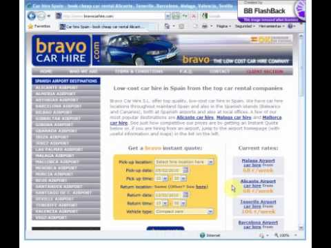 Book your cheap Alicante Airport car hire on Bravocarhire.com