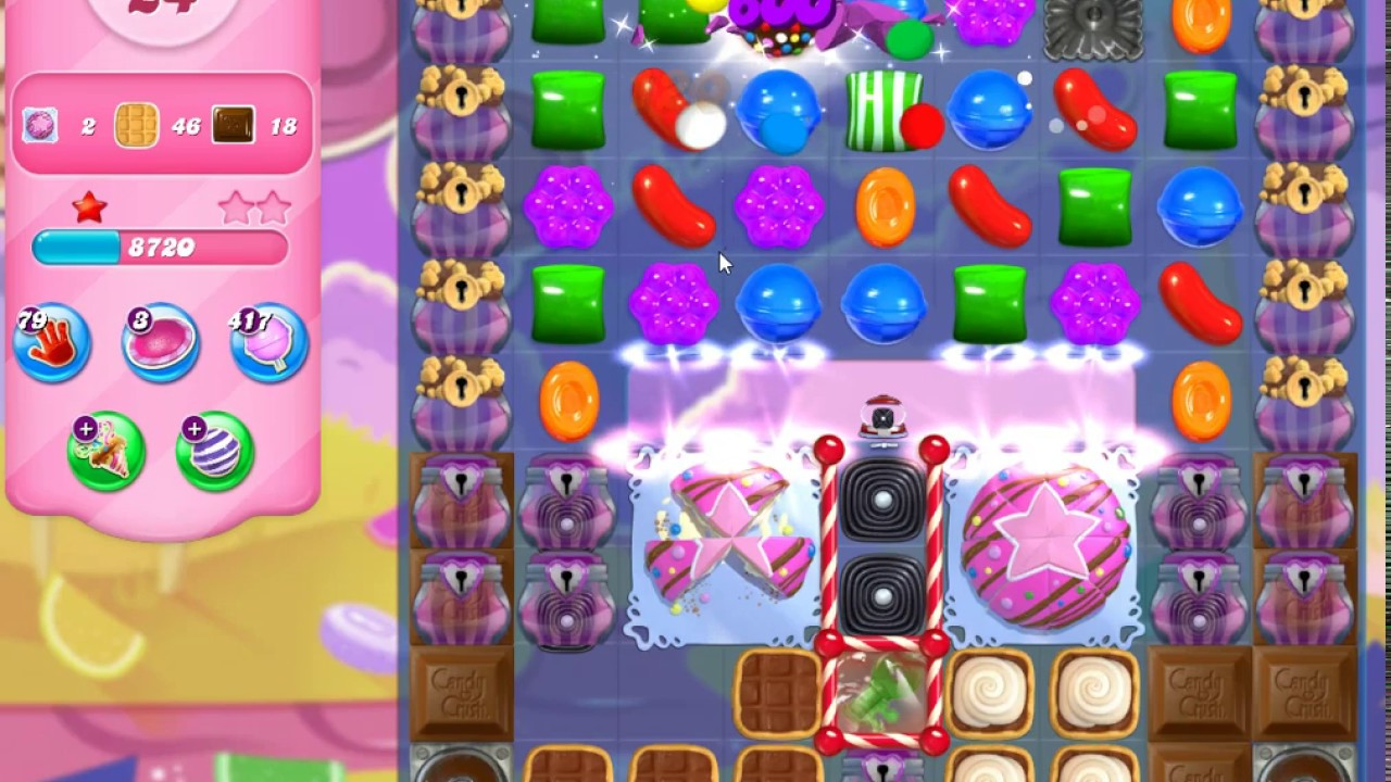 Download Candy Crush Saga Level 4344 (3 stars, No boosters)