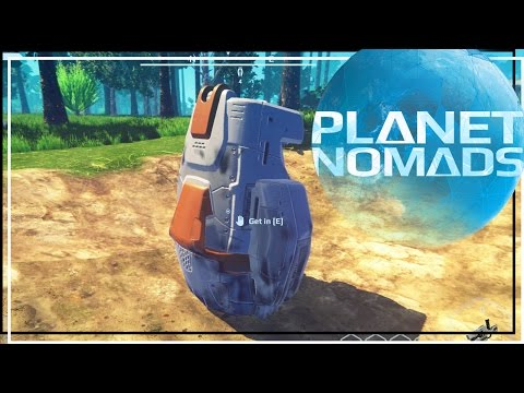★ Start a base - Ep 1 - Planet Nomads early access gameplay (let's play)