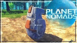 ★ Start a base - Ep 1 - Planet Nomads early access gameplay (let