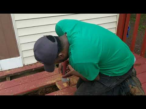 How to replace Old Deck Boards! Deck repairs! Easy DIY