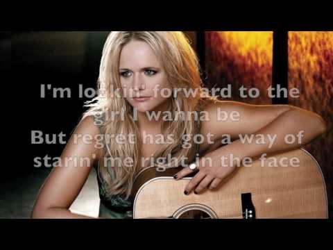 Miranda Lambert - Bathroom Sink Karaoke with backing vocals