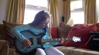 Amy Bannister playing Blowin Free by Wishbone Ash on her Daisy Rock
