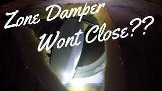 Zone Damper Call