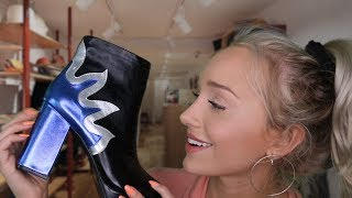 ASMR Finding Your Festive Outfit! - Personal Shopper Roleplay | GwenGwiz
