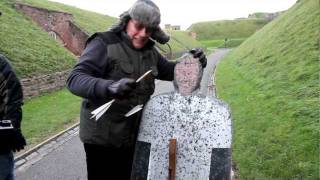 "Battle Castle: sharpshooter Kevin Hicks deals ""deadly"" crossbow blow"