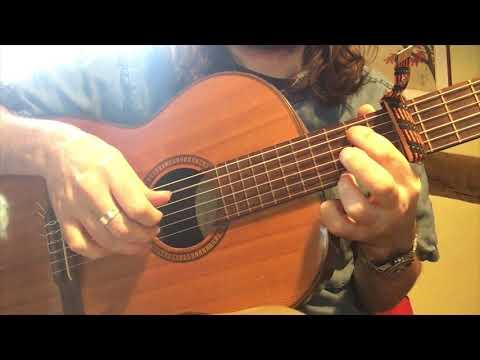 BIBIO - CURLS (GUITAR TUTORIAL WITH TAB)