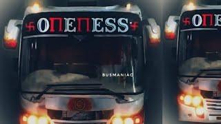 OnEnESS Raavan Miniature model bus  . Fully Hand made . Build by Enosh Devasy ☺☺