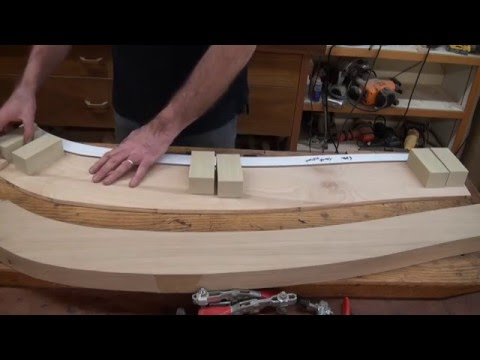 Making a Jig for Shaping Curves