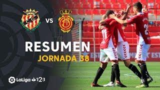 Resumen de Nàstic vs RCD Mallorca (2-1)