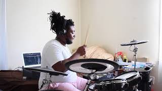 Synthetic Fusion - Damani Rhodes - Drum cover by: Retro Spectro