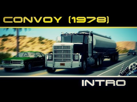 Convoy Movie Scene | Convoy INTRO (1978) (BeamNG drive)