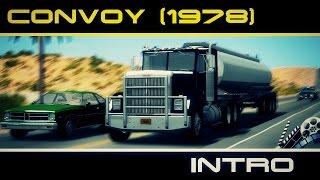 Convoy Movie Scene   Convoy INTRO (1978) (BeamNG drive)