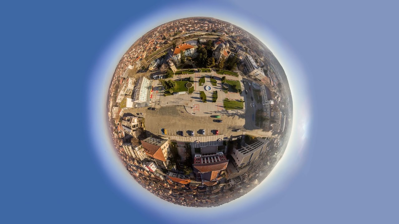 Planet through the eyes of drones