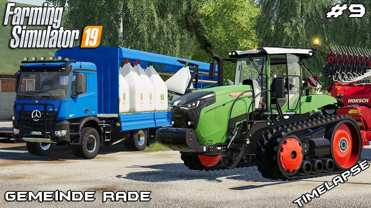 Upgrading Fendt MT943 & planting | Animals on Gemeinde Rade | Farming Simulator 19 | Episode 9