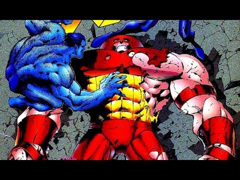 Onslaught Destroys Juggernaut Hulk Destroys Onslaught Youtube