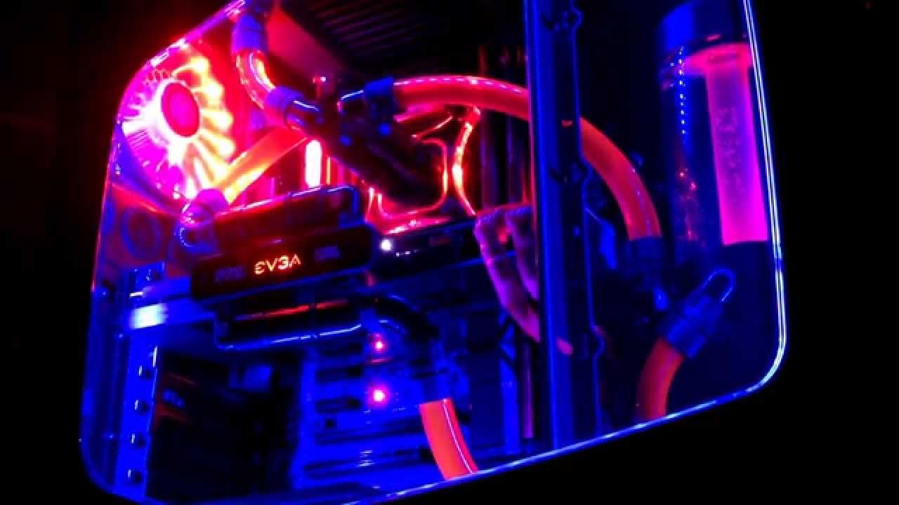 Rgb Led Computer Case Lights Youtube