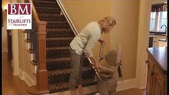 Bruno Elan Stairlift for Straight Stairs | Stairlifts Dublin & Ireland