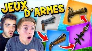 Fortnite - *NEW MODE* JEUX D'ARMES AVEC MICHOU !! thumbnail