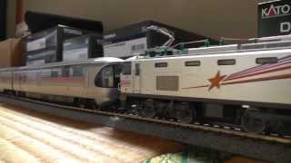 カシオペアの動画を再度編集しました。今回念願のTOMIX製ED79が2両増備...