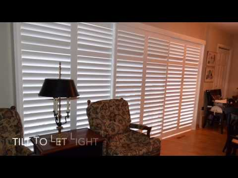 Transform Your Sliding Glass Patio Door with Shutters
