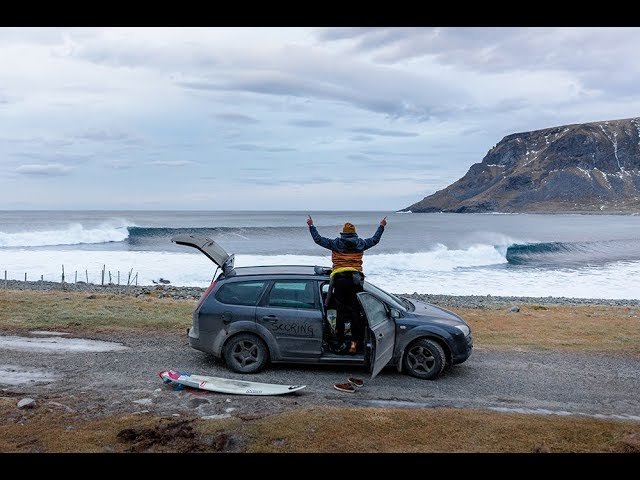 Arctic January:  A Lofoten Surf Mission With Oliver Hartkopp