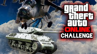 Das FLIEGENDER PANZER Battle in der GTA Challenge