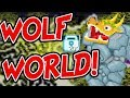 Growtopia | Lucky Wolf World And Using Wolf Whistle! #Wolf_World_4