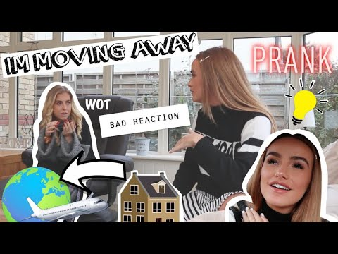 SHE KICKED OFF | MOVING ABROAD PRANK ON MY BFF | SYD AND ELL