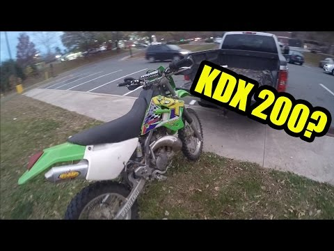 Trading the 250 for a KDX 200!