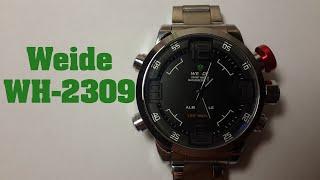 Годинник Weide WH-2309 огляд, налаштування, перевірка на водонепроникність